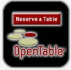 Open Table inside to make reservations at restaurants